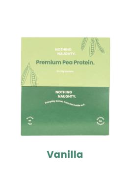 Premium Pea Protein Sachets Box VANILLA 10 x 25g